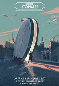 Affiche Utopiales 2017 - Laurent Durieux