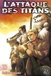L'attaque des titans, tome 23 - Hajime Isayama
